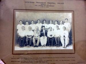 १९६५-६६ कार्यकारी मंडळ उत्कर्ष मंदिर